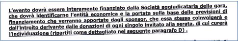 Fund raising Croce Rossa Italiana 1