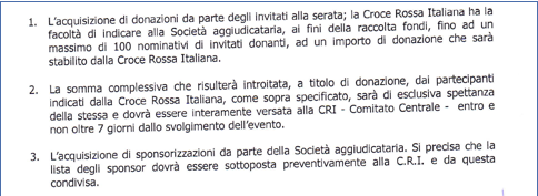 Fund raising Croce Rossa Italiana 3