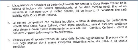 Fund raising Croce Rossa Italiana 3