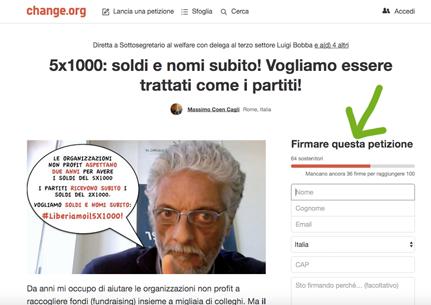 petizione-cinque-per-1000-change-org